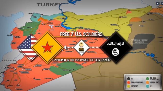 Cuộc trao đổi tù binh Mỹ và sự rút lui của người Kurd trên chiến trường Deir Ezzor.