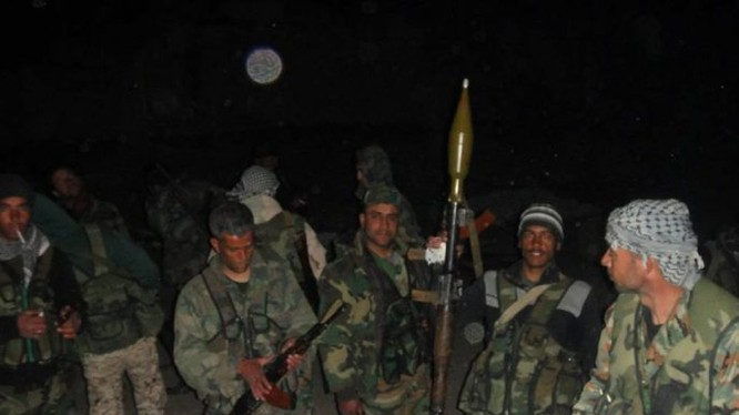 Lực lượng đặc nhiệm Syria trước trận đánh. Ảnh minh họa: Masdar News.