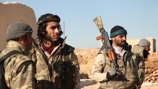 Các chiến binh người Kurd ở Afrin. Ảnh minh họa: South Front.
