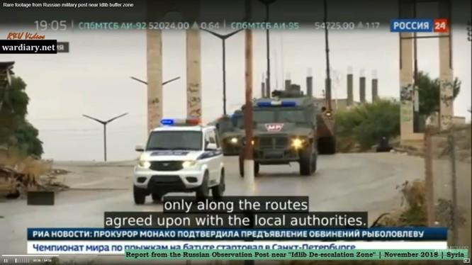 Nga triển khai trạm quan sát ngừng bắn ở Hama, Idlib. Ảnh: Russian24.