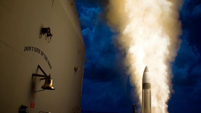 Phóng tên lửa SM-6 Standard Missile của Hải quân Mỹ. Ảnh minh họa