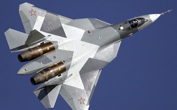 Máy bay tiêm kích thế hệ 5 Su-57. Ảnh Rusian Gazeta