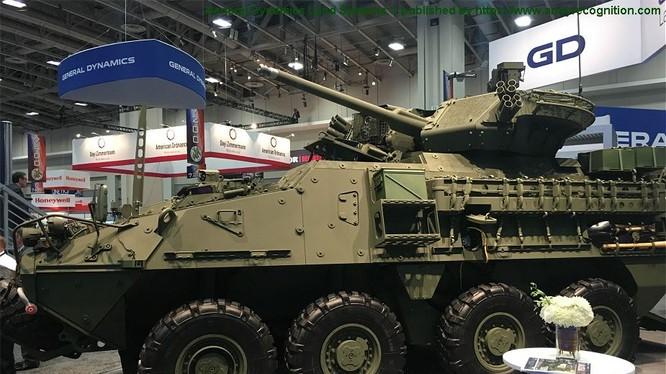 Xe thiết giáp bánh hơi Stryker A1 của hãng General Dynamics Land Systems Canada. Ảnh minh họa Armyrecognition