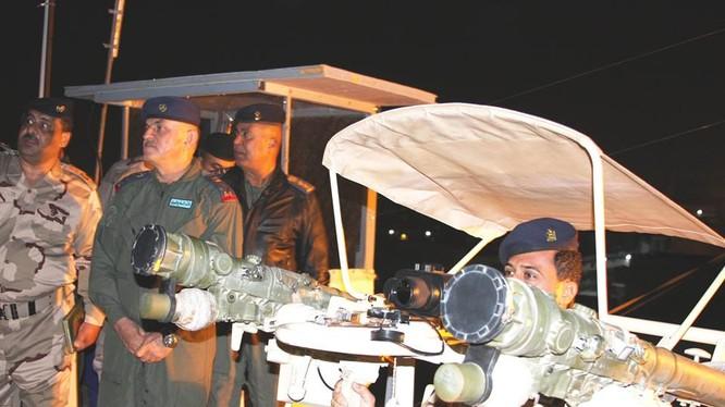 Tổ hợp tên lửa phòng không chiến trường Jigit, lắp đặt 2 tên lửa Igla-S SA-24 Grinch. Ảnh minh họa Rusian Gazeta.