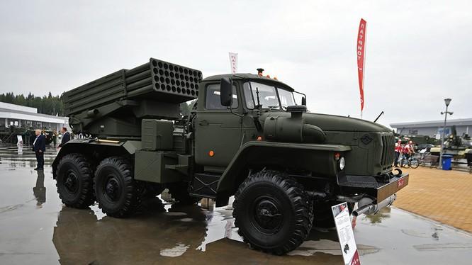 Pháo phản lực Tornador-G, phiên bản nâng cấp cải tiến sâu của pháp phản lực BM-21 Grad