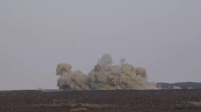 Quân đội Syria tiến hành cuộc tấn công al-Safa với hỏa lực của Golan-1000.