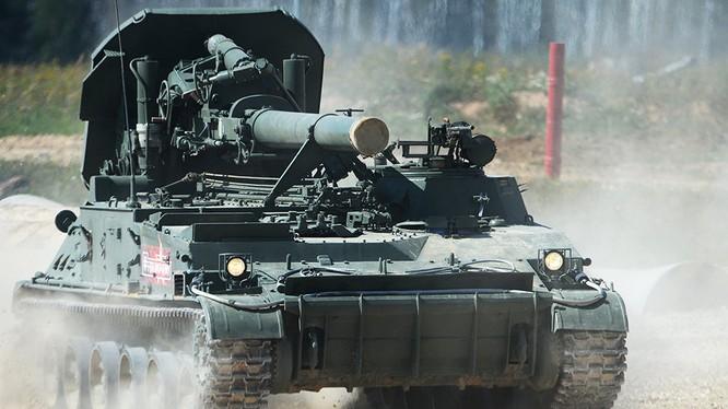 Xe cối tự hành 2S4 M240. Ảnh minh họa Rusian Gazeta