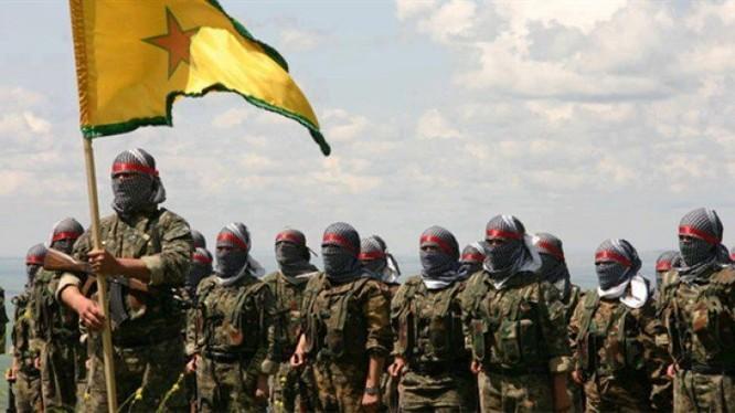 Những chiến binh YPG hoạt động bí mật ở Afrin. Ảnh minh họa: Masdar News.