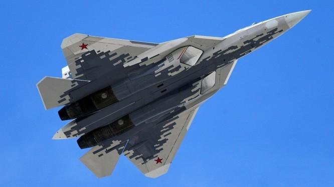 Máy bay tiêm kích tàng hình thế hệ 5 Su-57. Ảnh minh họa Military Watch Magazine