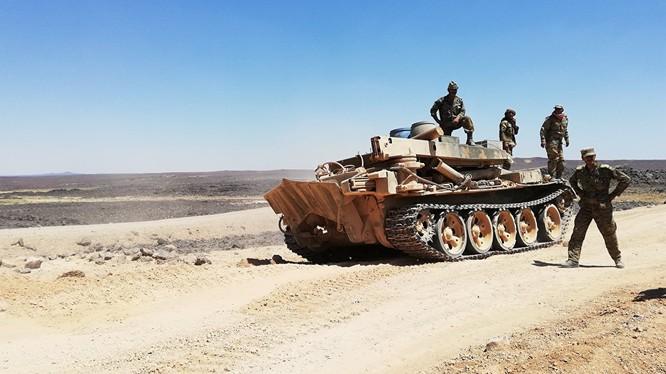 Binh sĩ Syria chuẩn bị hành quân về chiến trường mới. Ảnh: Sputnik.