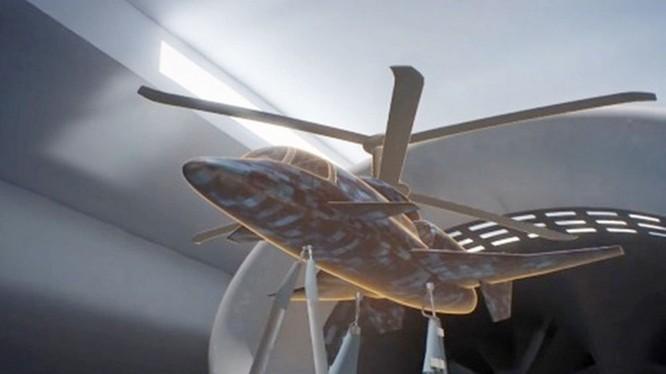 Trực thăng tốc độ cao, phương án thiết kế của hãng Kamov. Ảnh minh họa video Tsagi 100 năm: Khoa học hàng không.
