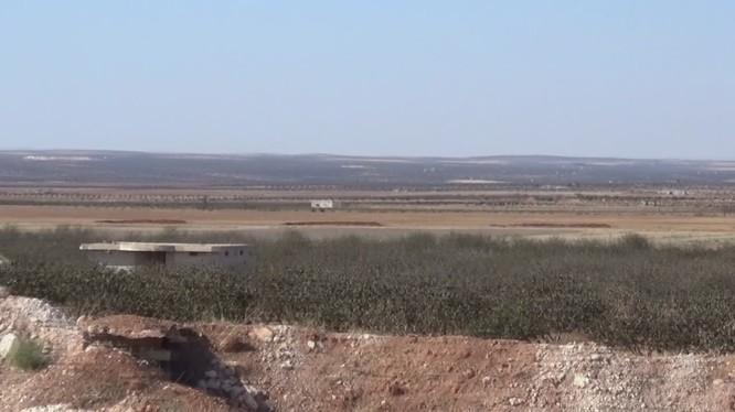 Chiến tuyến Idlib - Hama, nơi thường xuyên diễn ra các hoạt động khiêu khích của HTS, FSA.