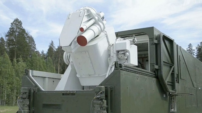 Vũ khí laser Nga vào sẵn sàng chiến đấu. Ảnh minh họa Sputnik