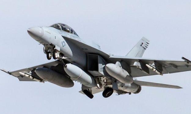 Hệ thống cảm biến hồng ngoại IRST21 trên F / A-18E / F Super Hornet. Ảnh MilitaryLeak