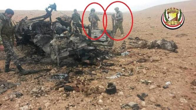 Đặc nhiệm Nga - Syria diệt 23 tay súng khủng bố IS ở Homs. Ảnh: South Front.
