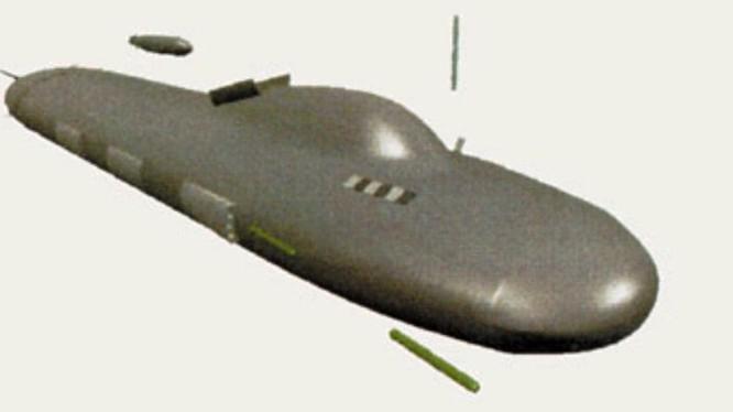 Thiết kế hoàn toàn mới của tàu ngầm Sub 2000. Ảnh Popular Mechanics