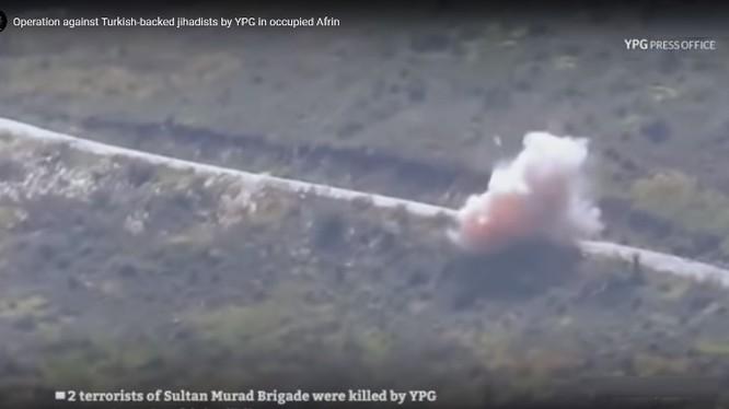 Lực lượng dân quân người Kurd sử dụng bom vệ đường tấn công FSA ở Afrin.