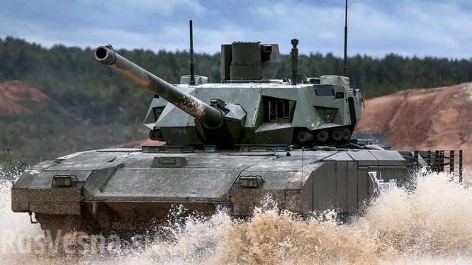 Xe tăng hiện đại Armata. Ảnh minh họa Rusvesna