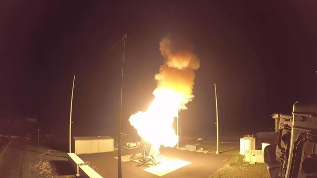 Phóng tên lửa đánh chặn SM-3 Block IIA trên đất liền (Aegis Ashore). Ảnh minh họa Military Leak