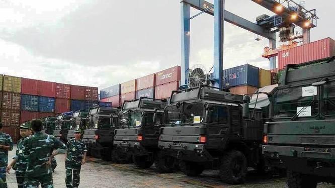 Các tổ hợp tên lửa phòng không tầm gần Spider Israel ở Việt Nam, ảnh Kaskus