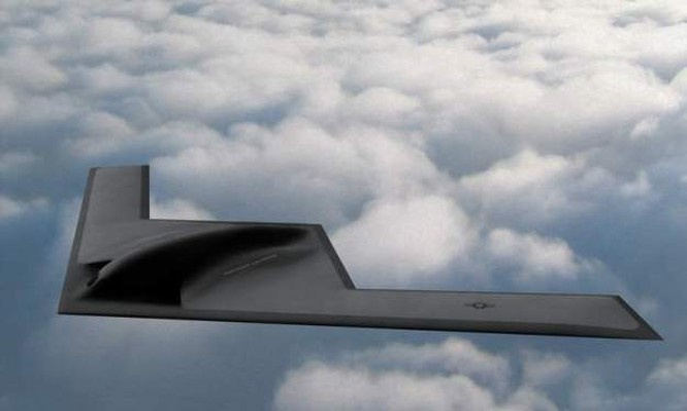 Máy bay ném bom tầm xa tàng hình hạng nặng Northrop Grumman B-21 Raider. Ảnh Military Leak