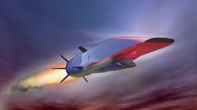 Máy bay không người lái tốc độ siêu thanh Boeing X-51 WaveRider. Ảnh: Popular Mechanics.