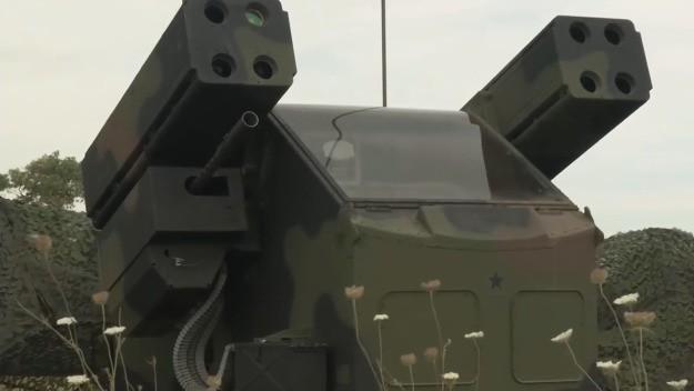 Hệ thống phòng không tầm gần SHORAD của Northrop Grumman. Ảnh MilitaryLeak.