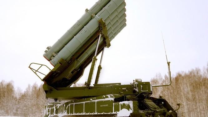Hệ thống tên lửa chiến trương tầm trung Vityaz S-350. Ảnh minh họa: Russian Gazeta.