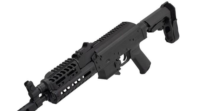 Tiểu liên PSV AK-V. Ảnh: Guns.Com.