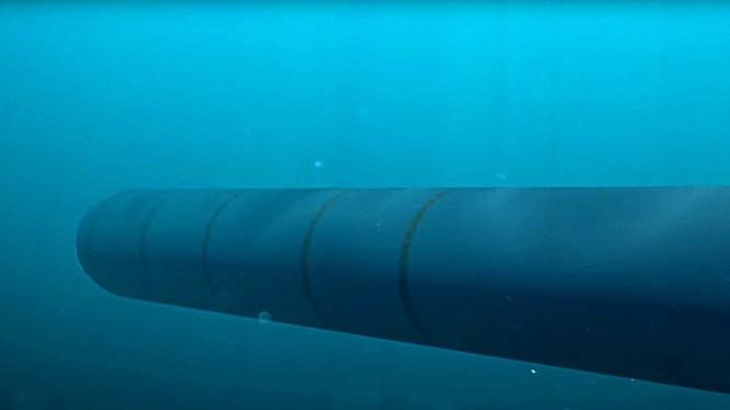 Đồ họa mô phỏng ngư lôi Poseidon. Ảnh: Topwar.