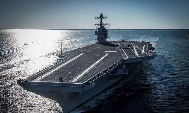 Tàu sân bay Gerald R Ford (CVN 78), được đưa vào phục vụ năm 2017. Ảnh: Military Leak.