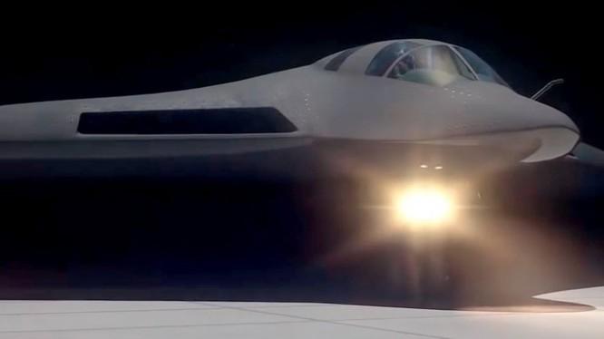 Máy bay ném bom chiến lược tầm xa tàng hình tiên tiến PAK DA. Ảnh mô phỏng: Tupolev.