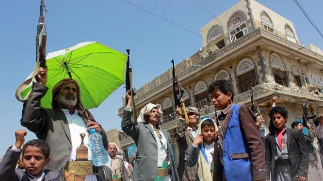 Chiến binh du kích phong trào Houthi ở Yemen. Ảnh minh họa: South Front.