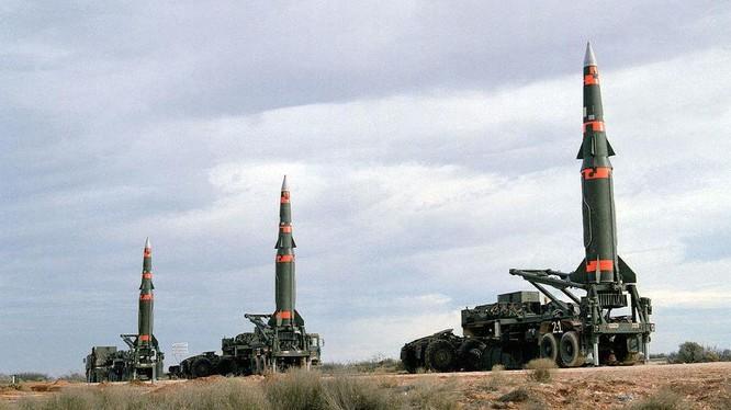 Hệ thống tên lửa tầm trung MGM-31 Pershing II của Mỹ trước khi bị phá hủy theo hiệp ược INF. Ảnh: The National Interest.