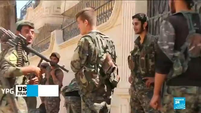 Những chiến binh người Kurd trong khu vực YPG kiểm soát. Ảnh: Afrin Liberation Forces.