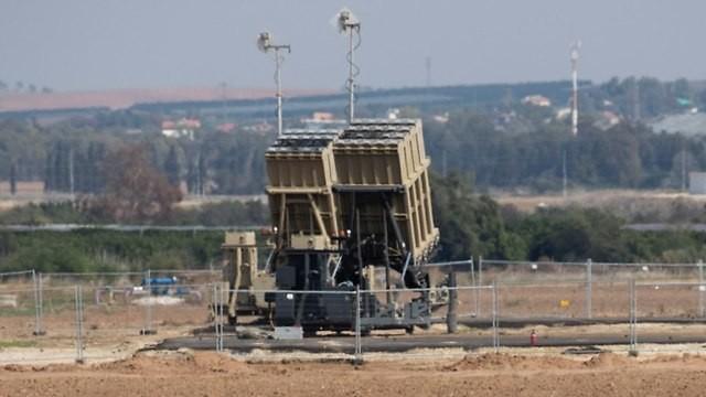Hệ thống tên lửa phòng không, phòng thủ tên lửa Israel Iron Dome. Ảnh minh họa: Ynet. News.