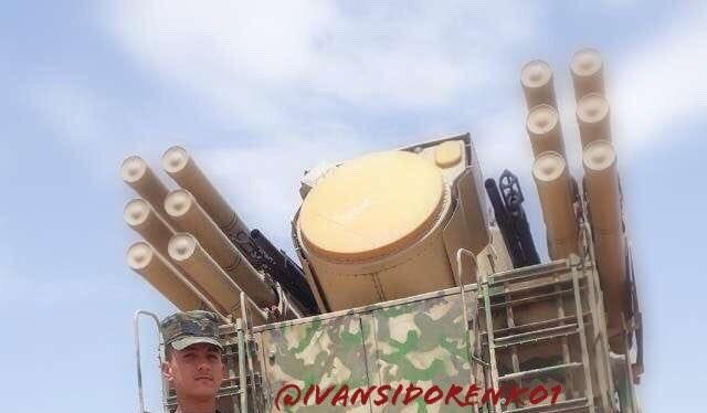 Tổ hợp tên lửa phòng không tầm gần Pantssir - S1 quân đội Syria. Ảnh minh họa South Front