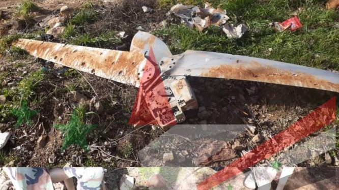 Bom bay Spice 1000 của Israel, bị bắn hạ ở Syria. Ảnh: South Front.