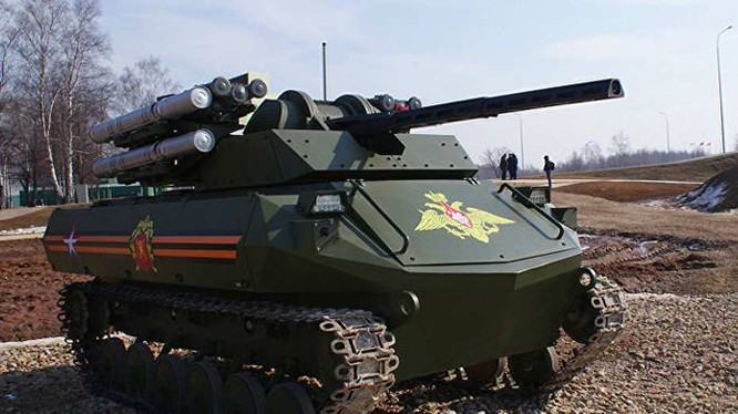 Robot chiến đấu Uran-9, vũ khí của các đơn vị Bộ binh Cơ giới và đổ bộ đường không.