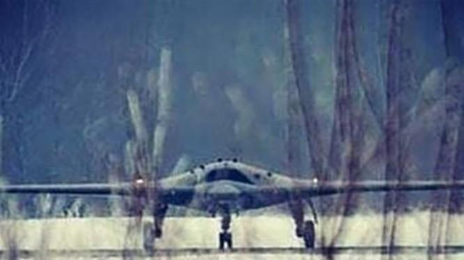 Máy bay không người lái hạng nặng Nga Okhotnik. Ảnh: Business Insider.