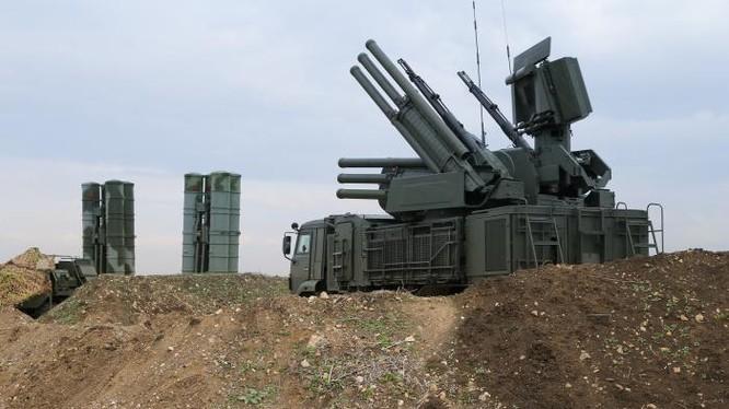 Tổ hợp pháo - tên lửa phòng không Pantsir-S1. Ảnh minh họa: South Front.