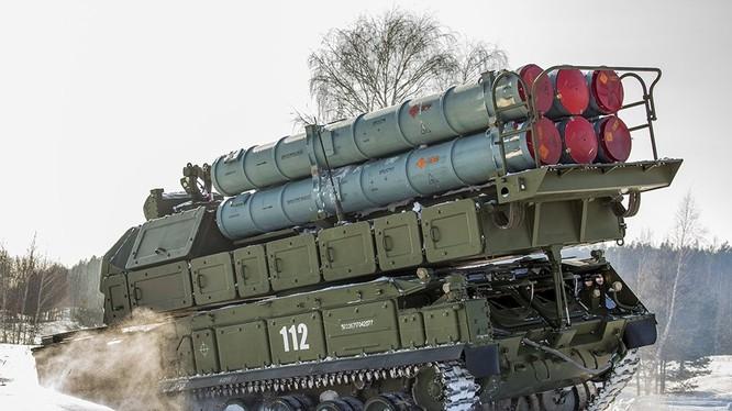 Tổ hợp tên lửa phòng không Buk-M3. Ảnh minh họa Rusian Gazeta