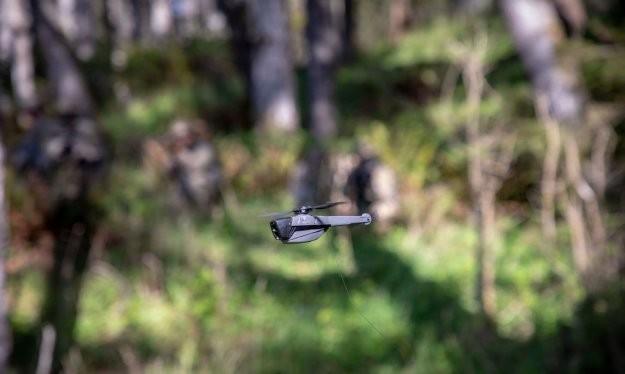 Máy bay không người lái nano Black Hornet® 3 (UAV). Ảnh: Military Leak.