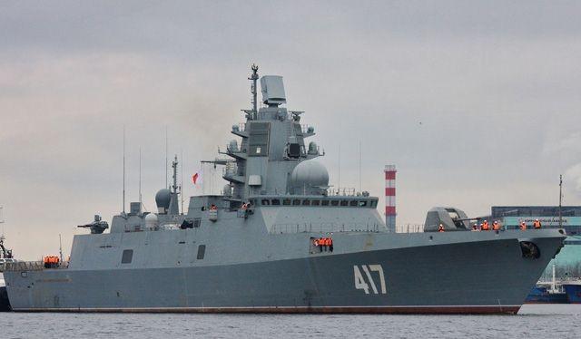 Khu trục hạm Đô đốc Gorshkov.