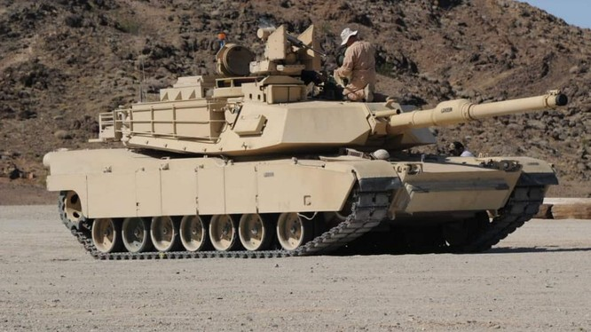 Xe tăng chủ lực Abrams Mỹ sẽ được nâng cấp lên phiên bản M1A2D (SEPv4). Ảnh Defance - Blog