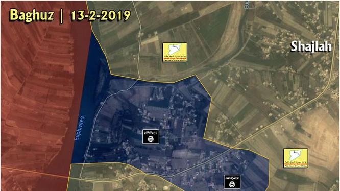 Chiến trường Deir Ezzor, những ngày cuối cùng của chiến dịch tiêu diệt IS. Ảnh minh họa: South Front.