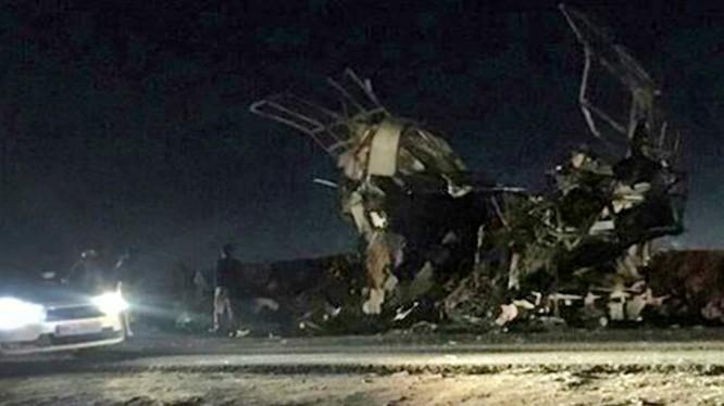 Hiện trường vụ khủng bố kinh hoàng ở Iran, 41 binh sĩ biên phòng thiệt mạng. Ảnh: South Front.