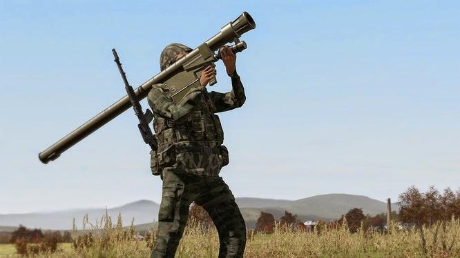 Binh sĩ Venezuela phóng tên lửa MANPAD Igla.