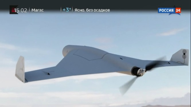 Máy bay không người lái tự sát KUB-BLA của tập đoàn Kalashnikov.