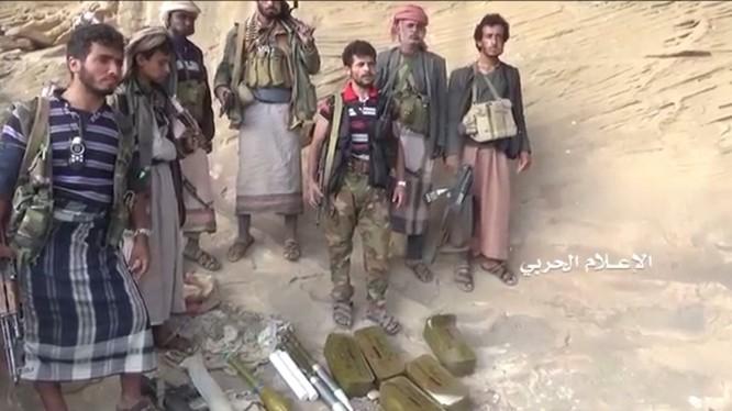 Chiến binh Houthi trên vùng biên giới Yemen - Ả rập Xê-út. Ảnh minh họa: South Front.